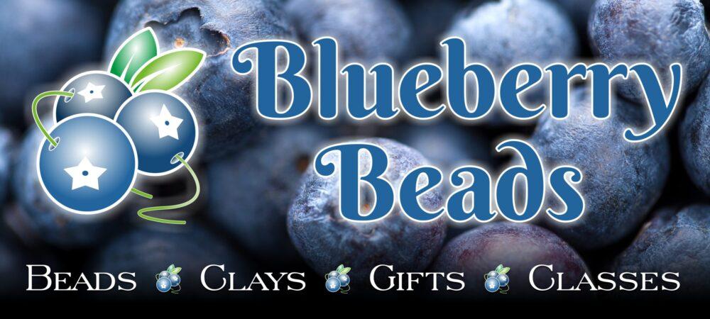 Blueberry Beads Banner