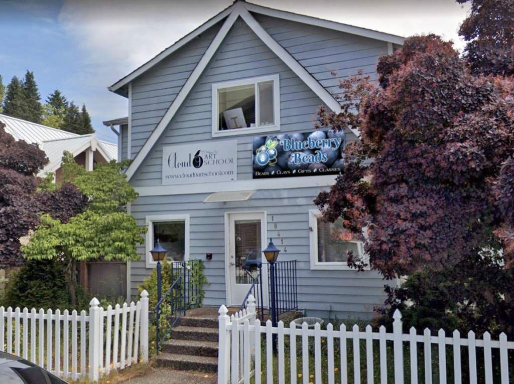 The Blueberry Beads Retail Shop in Bothell, WA